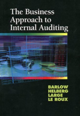 9780702129223: Business Approach to Internal Auditing