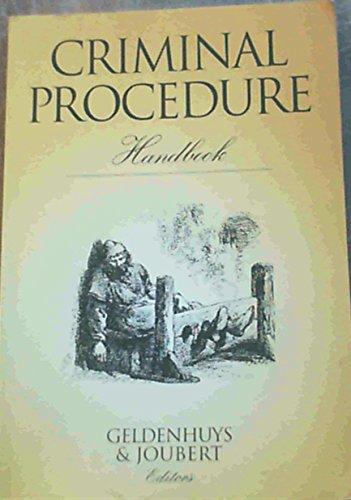 9780702131004: Criminal Procedure Handbook