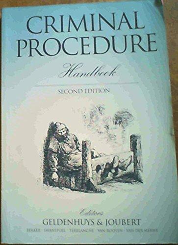 9780702136399: Criminal Procedure Handbook