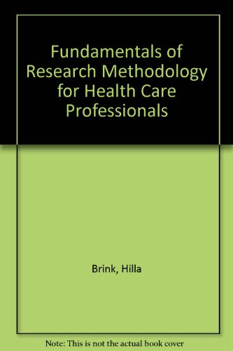 9780702137198: Fundamentals of Research Methodology for Health Care Professionals