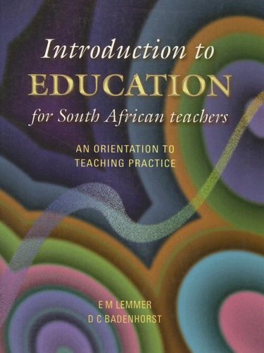Introduction to Education: E. M. Lemmer,