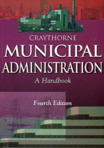 9780702142062: Municipal Administration: A Handbook