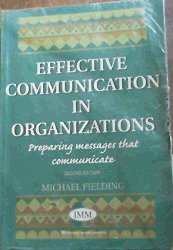 9780702142369: Effective Communication in Organisation