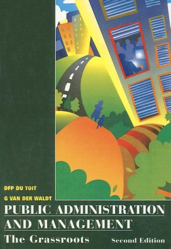 9780702151514: Public Administration and Management: The Grassroots