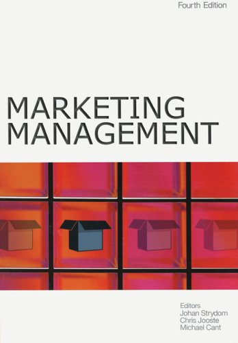 Marketing Management: Strydom, J. W.