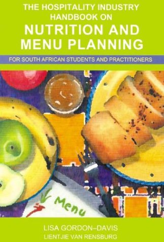 9780702155789: Hospitality Industry Handbook on Nutrition and Menu Planning