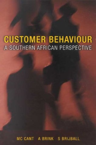 9780702158322: Customer Behaviour: A Southern African Perspective