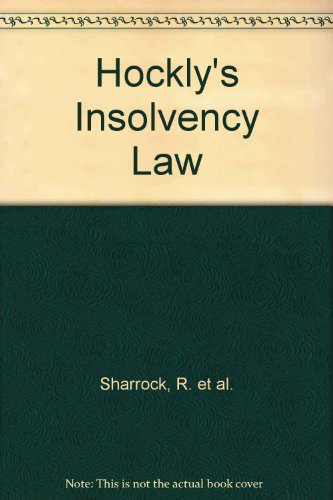 9780702159145: Hockly's Insolvency Law