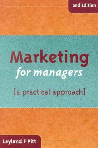 9780702159336: Marketing for Managers: A Practical Approach