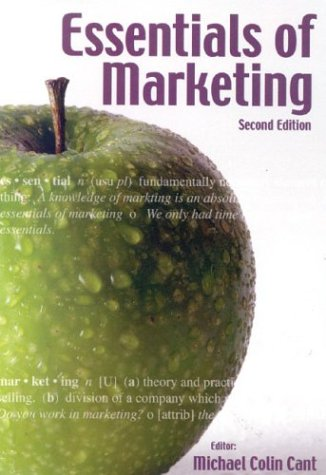 Essentials of Marketing: Cant, M. C.