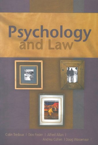 9780702166624: Psychology and Law