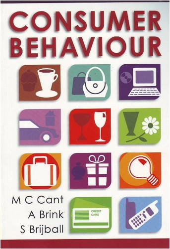 Consumer Behaviour: Cant, M.C. :