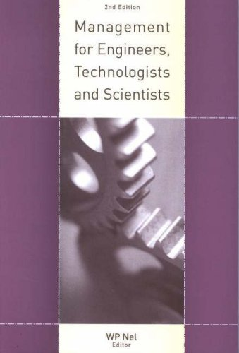 9780702171611: Management for Engineers, Technologists and Scientists