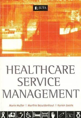 9780702171635: Health Care Service Management