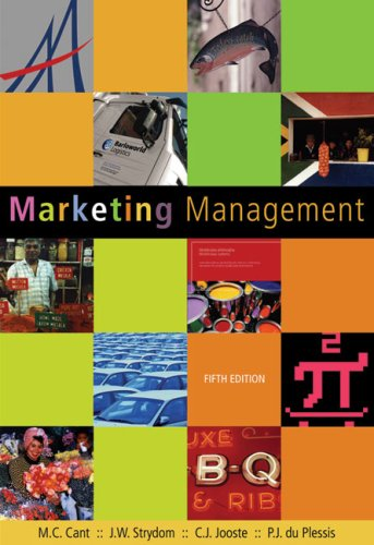 Marketing Management: Cant, M.C. and