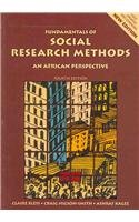 9780702171949: Fundamentals of Social Research Methods: An African Perspective
