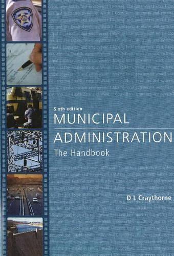 9780702172588: Municipal Administration: The Handbook