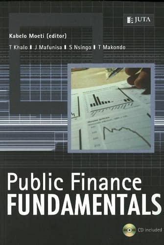 9780702172946: Public Finance Fundamentals