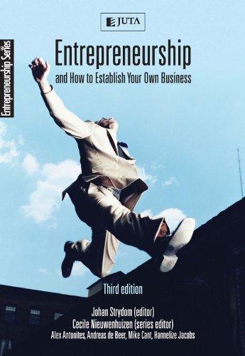 Entrepreneurship and How to Establish Your Own