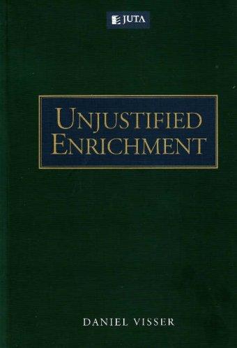 9780702176913: Unjustified Enrichment