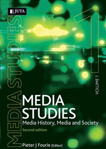 9780702176920: Media Studies: Media History, Media and Society (v. 1)