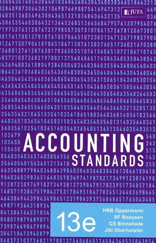 9780702177095: Accounting Standards