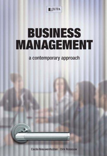 9780702177118: Business Management: A Contemporary Approach