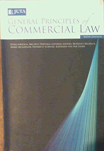 General Principles of Commercial Law: Havenga, Peter &