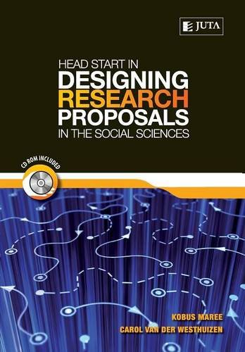 9780702177224: Head Start in Designing Research Proposals in the Social Sciences