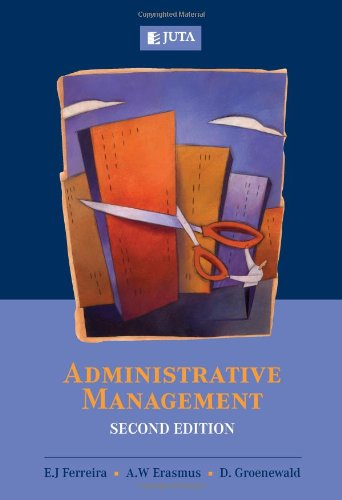 9780702177521: Administrative Management