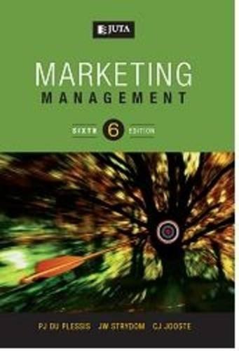 9780702178122: Marketing Management