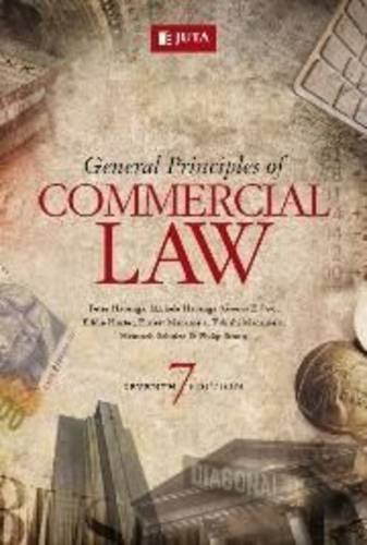9780702185144: General Principles of Commercial Law