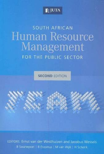 9780702188633: South African human resource management for the public sector