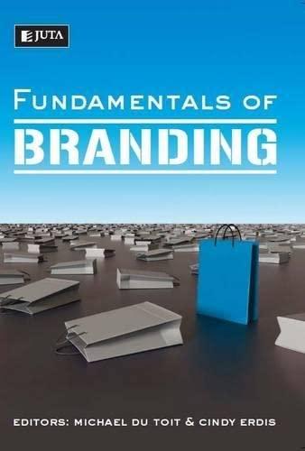 9780702189074: Fundamentals of branding