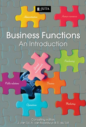 9780702189760: Business Functions: An Introduction