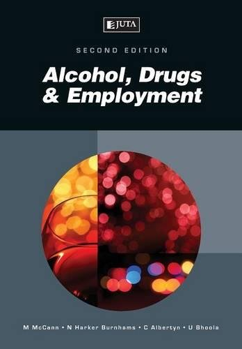 9780702194061: Alcohol, Drugs & Employment