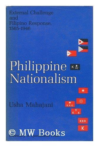 Philippine Nationalism: External Challenge and Filipino Response, 1565-1946: Mahajani, Usha