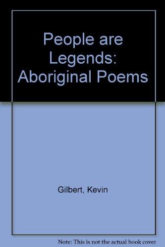 9780702212390: People are Legends: Aboriginal Poems