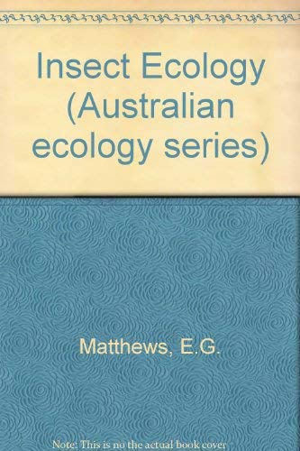 9780702212505: Insect Ecology (Australian ecology series)