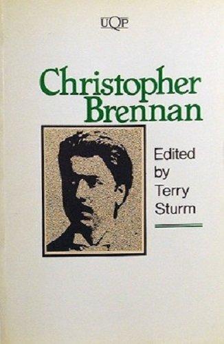 Christopher Brennan: Sturm, Terry (Editor)