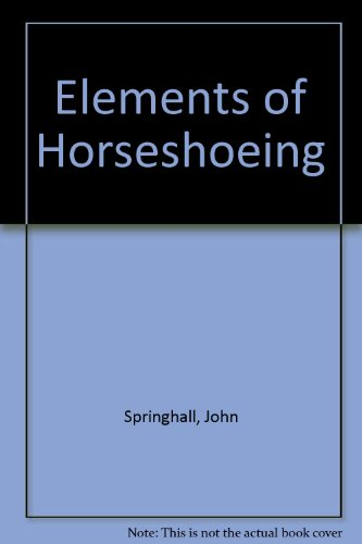 9780702218279: Elements of Horseshoeing