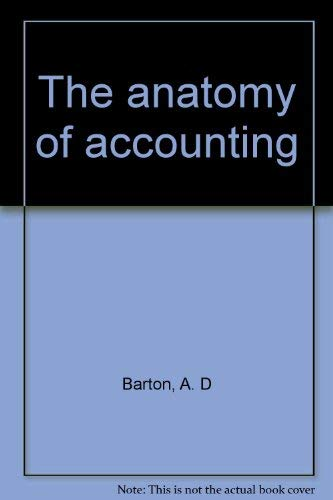 9780702218637: The anatomy of accounting