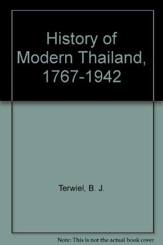 9780702218927: History of Modern Thailand, 1767-1942 (The University of Queensland Press' histories of Southeast Asia series)