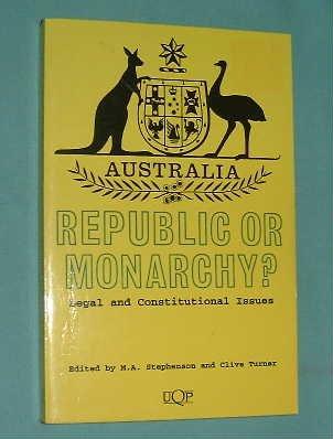 9780702227189: Australia Republic Monar