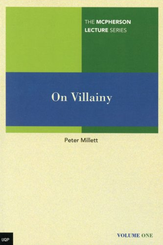 9780702235900: On Villainy (McPherson Lecture Series)