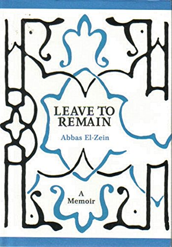 Leave to Remain (Hardcover): Abbas El-Zein