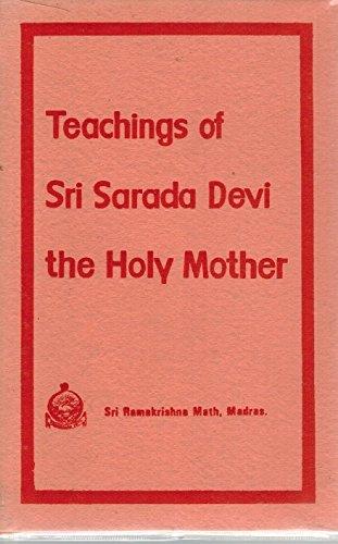 Teachings of Sri Sarada Devi, the Holy Mother: Math, Sri Ramakrishna