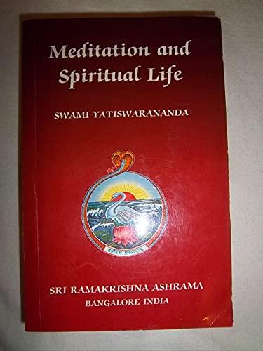 9780702501777: Meditation and Spiritual Life