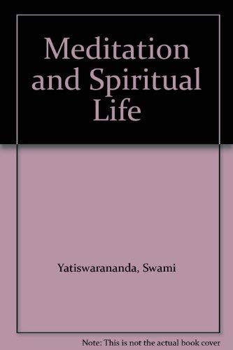 9780702501784: Meditation and Spiritual Life