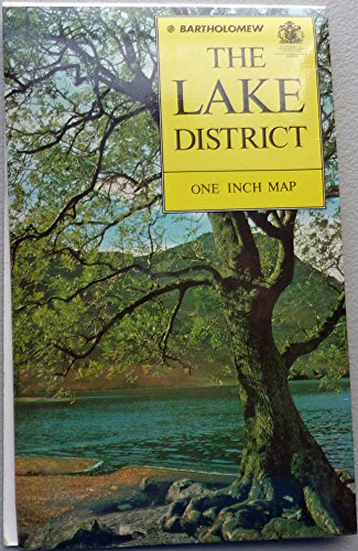 The Lake District Map (0702803553) by John Bartholomew and Son
